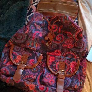 Handbags - Brand new rainbow paisley backpack